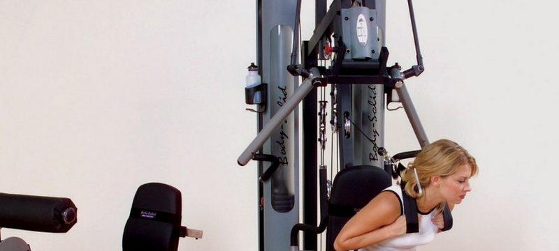 la station de musculation elliptiforme. Black Bedroom Furniture Sets. Home Design Ideas