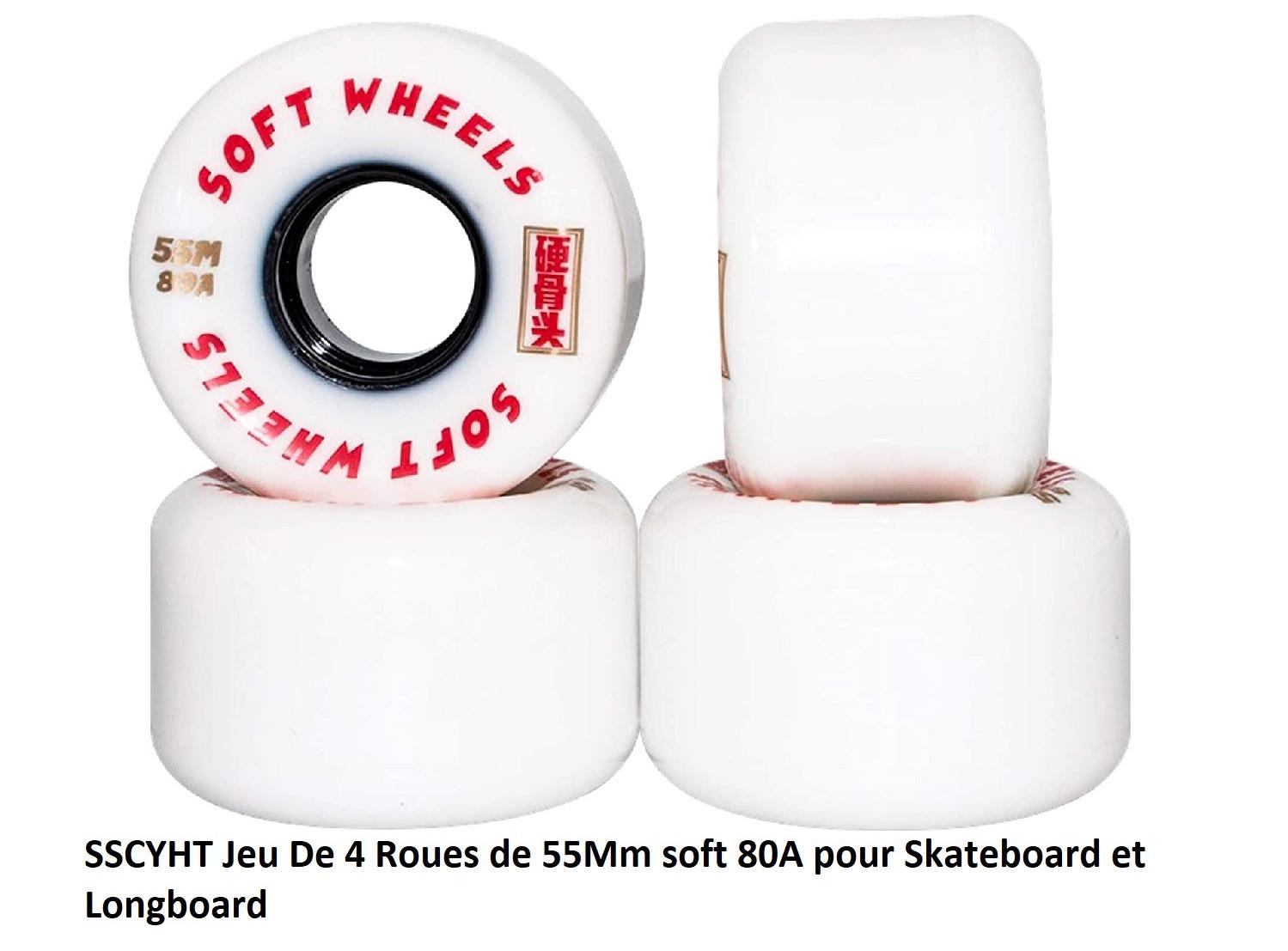 Roue de skate SSCYHT 55mm 80A