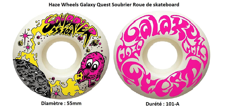 Roue de skate Haze Wheels Galaxy Quest Soubrier