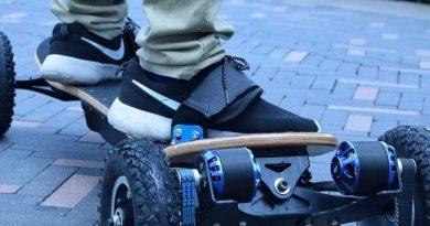 Le skateboard à moteur