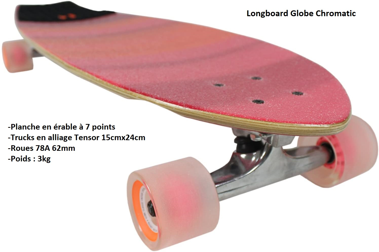 Longboard Globe Chromantic Cruiser