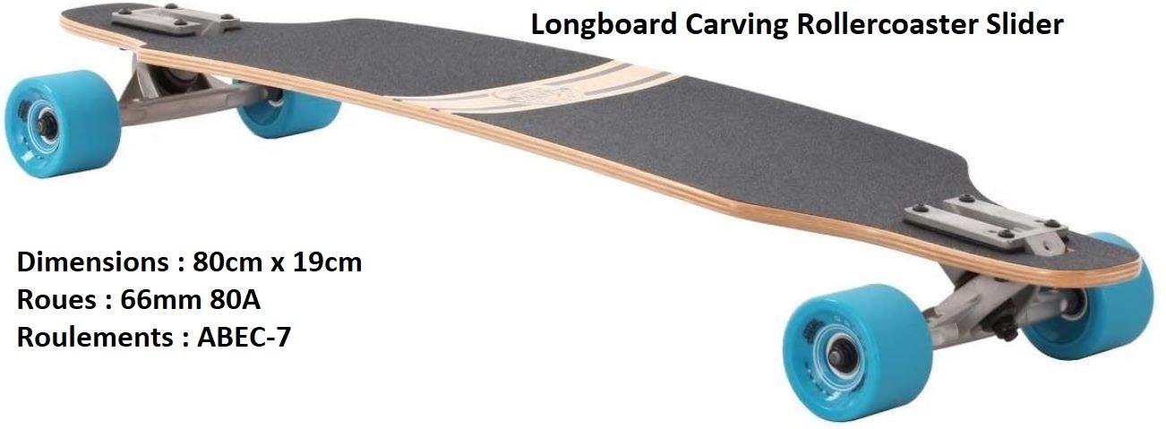 Longboard Carving Rollercoaster Slider