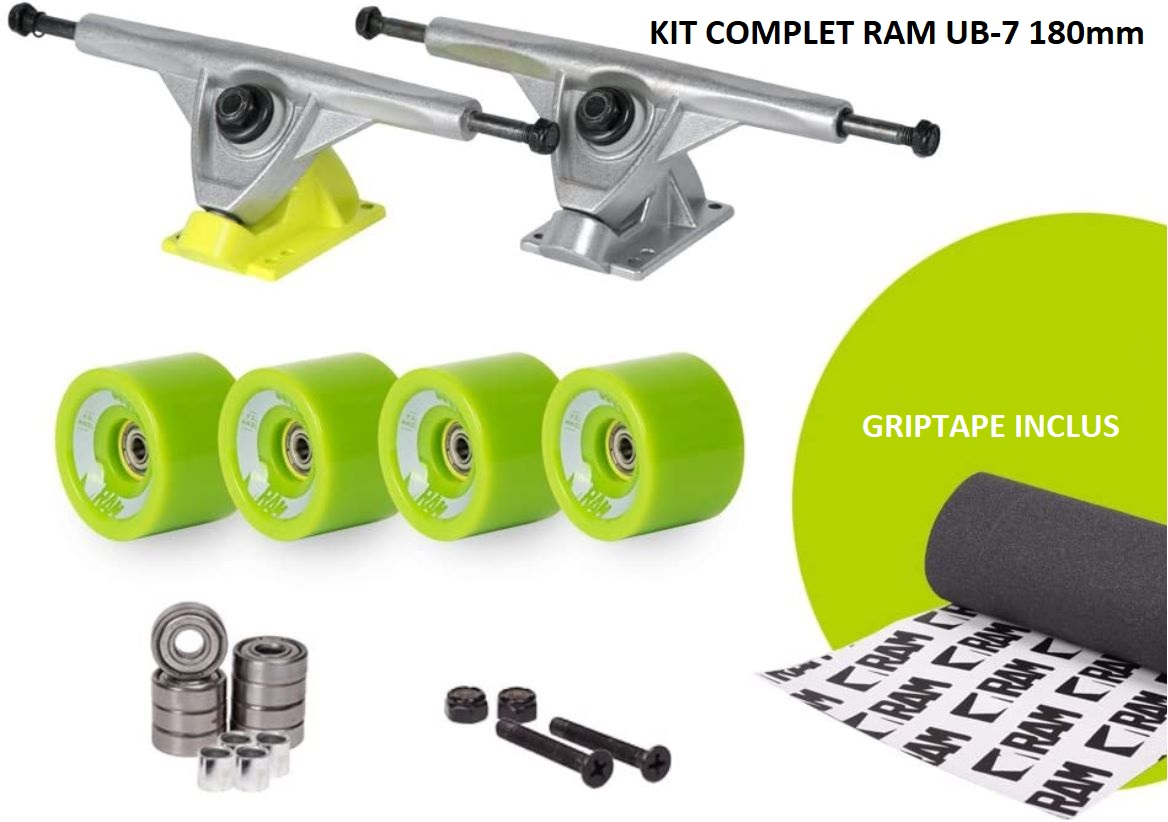 Kit complet pour longboard RAM UB-7