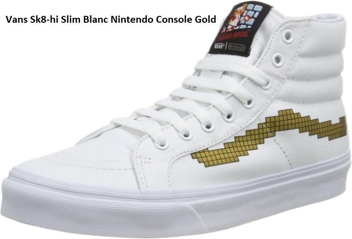 Chaussures de skate Vans Sk8-hi Slim