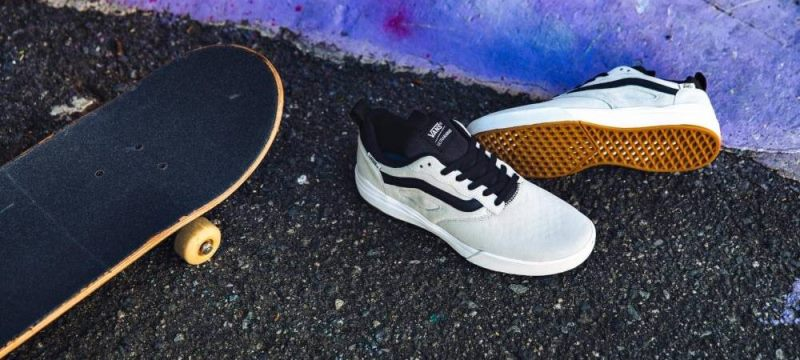 Chaussures de skate Vans blanche