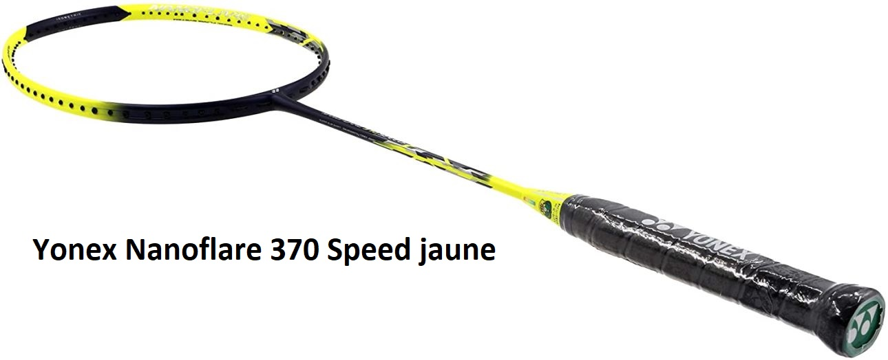 Raquette Yonex Nanoflare 370 Speed jaune