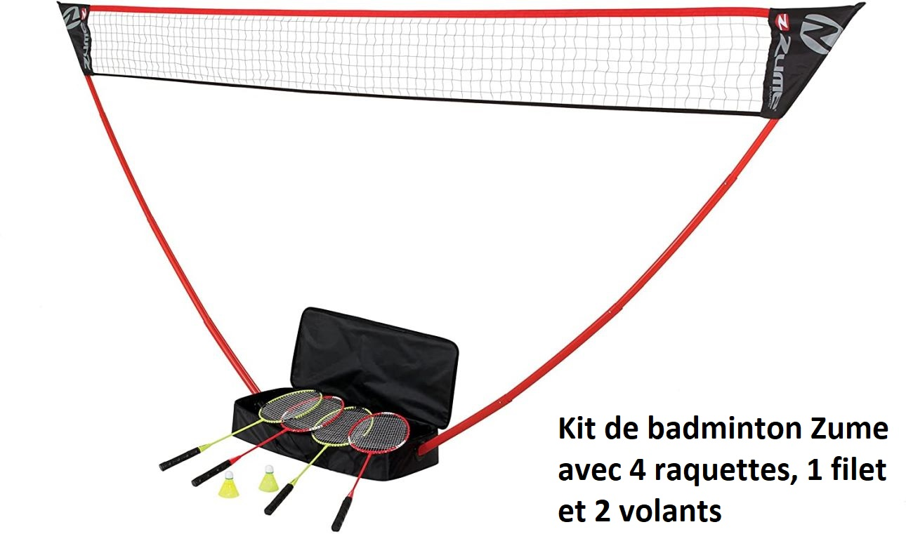 Kit de badminton Zume