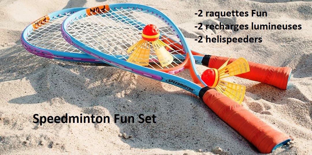 Kit de Speedminton Fun Set