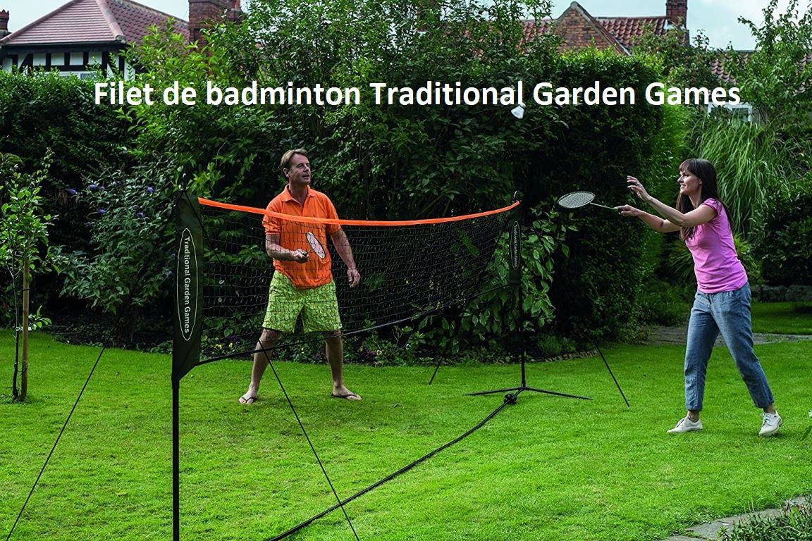 Filet de badminton Traditional Garder Games