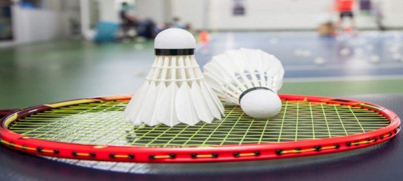 Raquette du badminton
